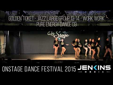 GOLDEN TICKET   Jazz Large Group 13 14   Work Work   Pure Energy Dance Co