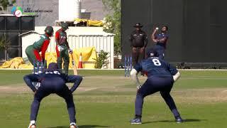 USA v Kenya ICC World Cricket League 3, Oman 2018