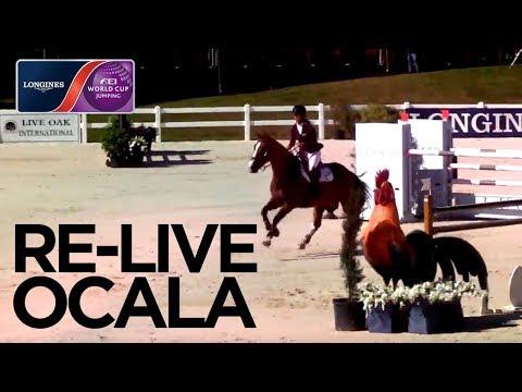 RE-LIVE | Ocala | Longines FEI World Cup™ Jumping NAL | Qualifier - Live Oak International