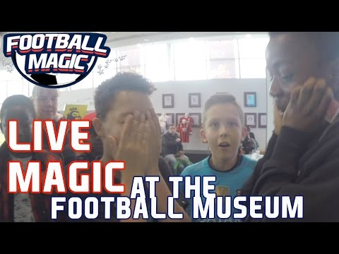 Reactions to MAGIC in the National Football Museum!!!!