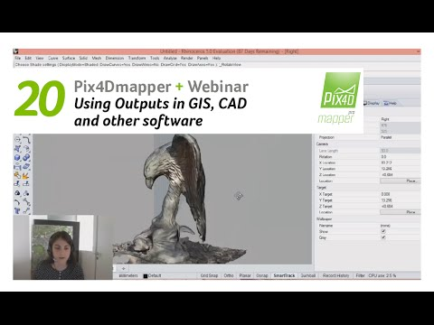 Pix4D Webinar 20: Using Pix4Dmapper outputs in GIS, CAD and other software