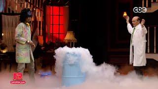 لحظة انفجار أستوديو محمد صبحي ببرنامج «مفيش مشكلة خالص» (فيديو)