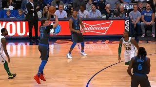 Luka Doncic Schools Kyrie Irving to