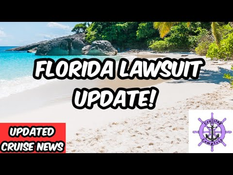 Updated Cruise News! Florida Lawsuit Update. Cruise Lines React To CDC Guidance