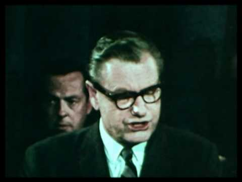 Nelson Rockefeller announces for the Presidency 1968