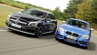 Mercedes A 45 AMG vs. BMW M135i xDrive