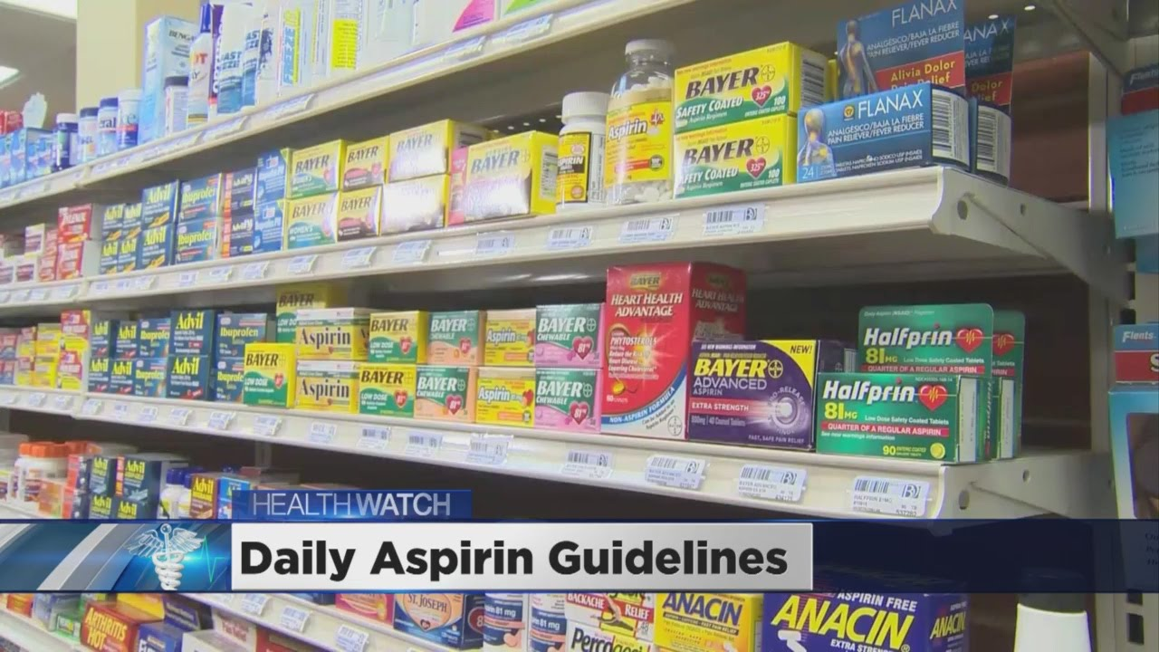 Nat'l Task Force Issues New Guidelines On Aspirin Use