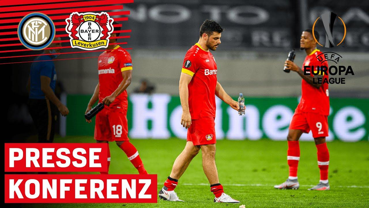 Aus gegen Inter Mailand – Bayer 04 scheitert im Viertelfinale   PK nach dem Spiel   Europa League