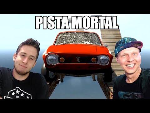 Bruno Bar Na PISTA MORTAL Com O SATSUMA Do My Summer Car!
