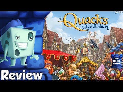 The Quacks of Quedlinburg Review - with Tom Vasel