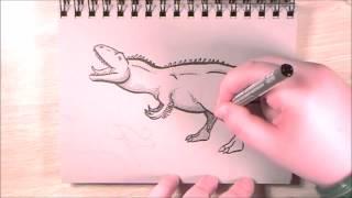 Prehistoric Critters Giganotosaurus