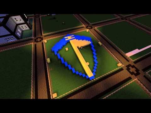 Minecraft Timelapse - Koenigsegg Logo