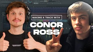 Making a Conor Ross Track WITH CONOR ROSS // Future House