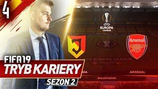FIFA 19 | KARIERA ROAD TO GLORY S2 | #04 - Arsenal w Białymstoku!