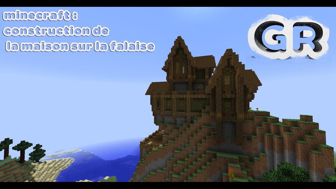 Minecraft tutoriel: construction de une maison sur la falaise ...