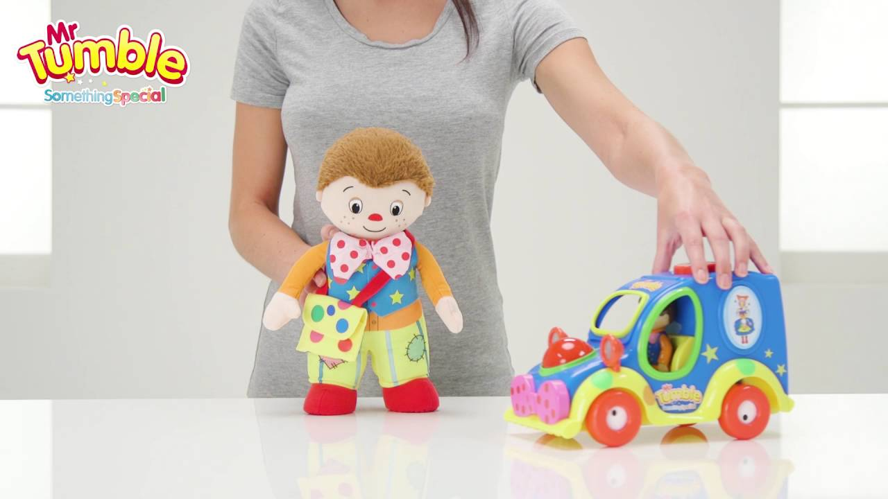 Mr Tumbles Character And Fun Sounds Musical Car Argos Toy Unboxing