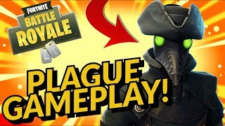 PLAGUE Skin Gameplay! In Fortnite Battle Royale