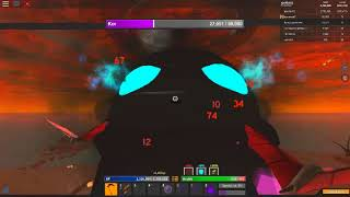 hard kor with 5 people- roblox Monster Islands