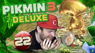 FINALLEVEL! GOLDENES GUMMIBÄRCHEN will OLIMAR FRESSEN! 🌸 PIKMIN 3 DELUXE 🌸 #22