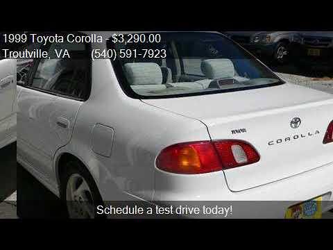 1999 Toyota Corolla LE 4dr Sedan for sale in Troutville, VA