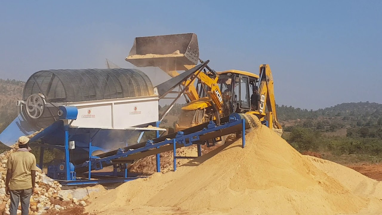 Sand sieving machine G S GOUSIYA ENGINEERING WORKS NANDYAL AUTO NAGAR  9010889900 8185031576