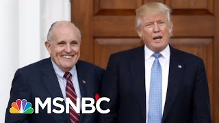 Rudy Giuliani's New Geraldo Rivera Vault Defense | The Beat With Ari Melber | MSNBC