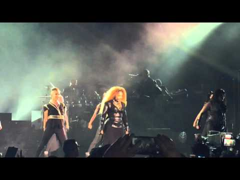 Janet Jackson - Opening | BurnItUp! | Nasty (Unbreakable Tour)