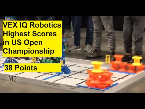 VEX IQ Next Level (Great Strategies And Tactics From US Open Championship, 38-36-34 Points)