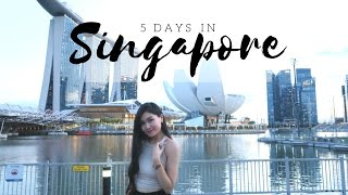 Singapore | 5-Days Travel Diary 2017 || by @mariethuy