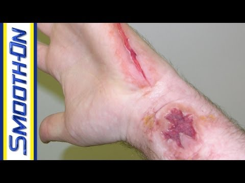Special Effects Makeup Tutorial: Fake Cut Using Silicone Rubber