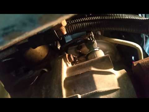 Buick Rendezvous - Changing the Vehicle Speed Sensor