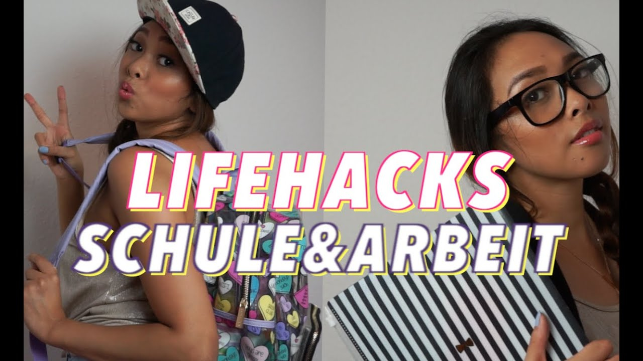 lifehacks f r schule und arbeit i hello chrissy youtube. Black Bedroom Furniture Sets. Home Design Ideas