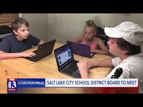 Salt Lake City School District board to meet