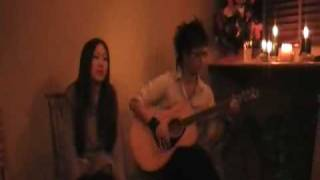 "2008 Dec.13 Christmas live at ""kope.coco"" Performed by Pink Wine Vo..."