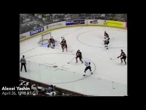 Ottawa Senators Playoff Overtime Goals Alexey Yashin