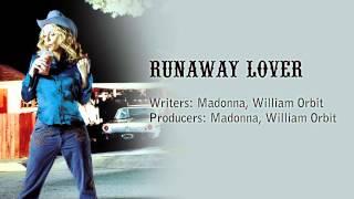 Runaway Lover - Instrumental