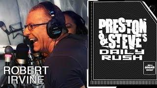 Robert Irvine and Gail Kim - Preston & Steve's Daily Rush