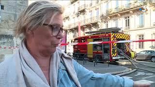Incendie à Bordeaux : le récit d'une soirée de lutte contre le feu