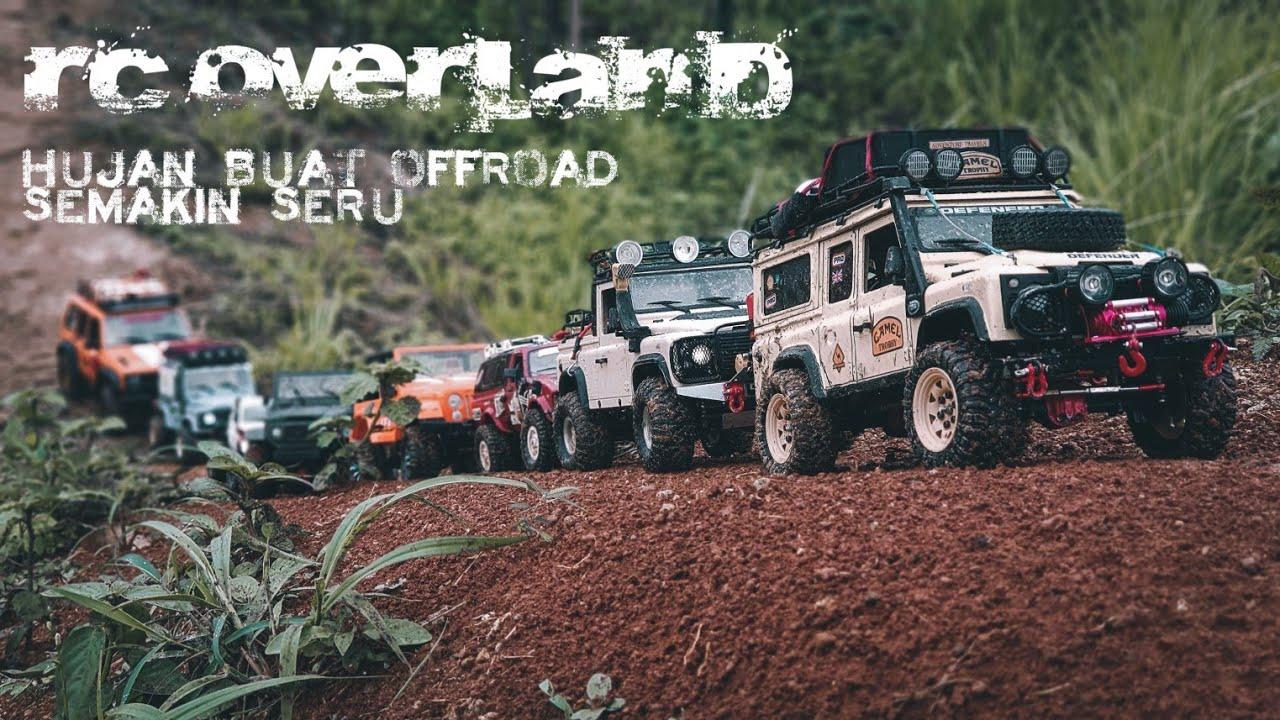 RC Car 4x4 Offroad | WPL MN D90 dan Axial Di Bukit Batu