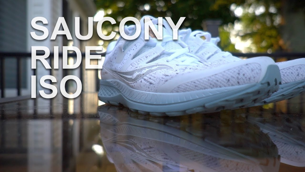 SAUCONY RIDE ISO 10 MILE RUN AND FIRST IMPRESSIONS