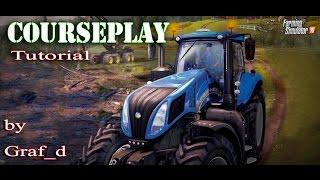 LS15 Courseplay Tutorial Mais-Abfahren BGA-Landwirtschafts Simulator 2015   Deutsch