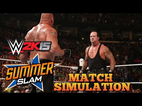 Brock Lesnar vs The Undertaker WWE...