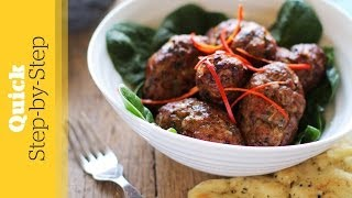 How To Make Lamb Kebabs | Indian Recipe | Quick Step-By-Step Version