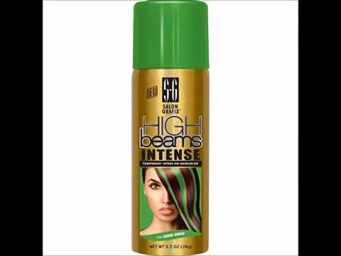 Image Is Loading Temporary Hair Color Spray Emerald Green 3 5oz