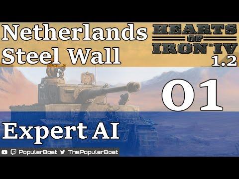 HOI4 [1.2 | Netherlands Steel Wall - Expert AI mod] Part 01 - Starting fresh