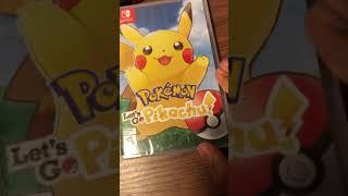 Unboxing de Pokémon Let's Go Pikachu!!