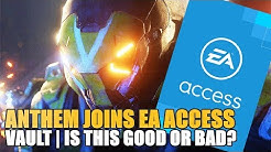 ANTHEM JOINS EA ACCESS VAULT | Is this a good or bad for Anthem?