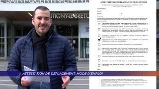 Yvelines | Confinement : attestation de déplacement, mode d'emploi