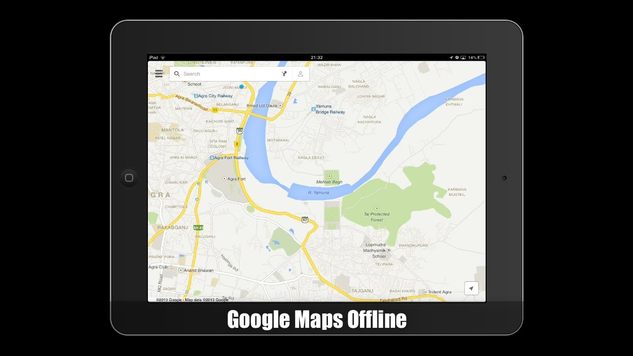 Download Google Maps Offline on iPhone and iPad