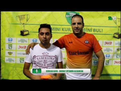 Seyit Kaya - Energy Vitamin Alsancak Maç Sonu Röportaj / İzmir / Rakipbul Ligi Kapanış Sezonu